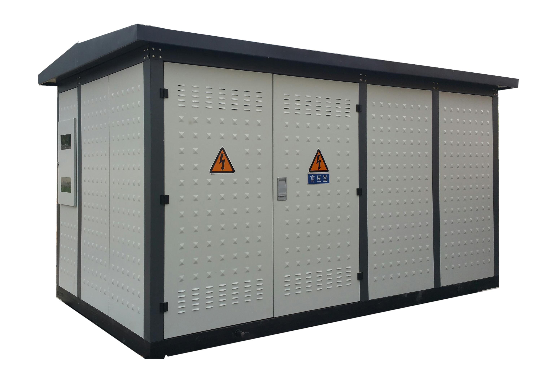 箱式变电站,又叫预装式变电所或预装式变电站.图片